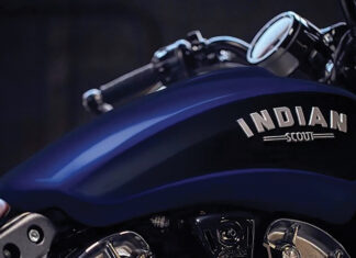 Indian Scout Bobber Deep Water Metallic Modal