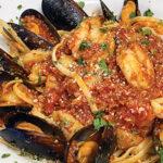 Shrimp Boat Iso Seafood Pasta Di Fruitti Di Mare