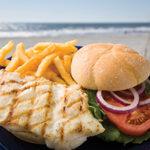 Schooners Iso Grouper Sandwich