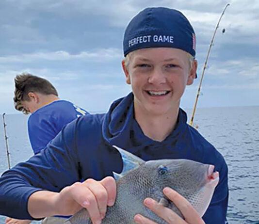 Fishing Triggerfish Ryan