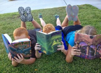 Book Kids Reading Cute Child Kids Reading